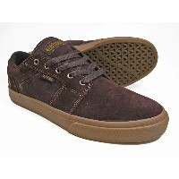 ETNIES(エトニーズ)/BARGE LS/Dark Brown
