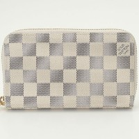 LOUIS VUITTON ルイヴィトン 財布 N60029 ダミエ・アズール ジッピー・コンパクト