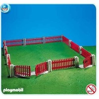 プレイモービル 7292 フェンス Playmobil Garden Fencing, Doll House