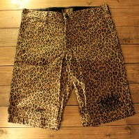 """KUSTOMSTYLE SO-CAL""""NORM LOGO"""" LEOPARD SHORTS-SLIM FIT-【KUSTOMSTYLE SO-CAL】(カスタムスタイルソーキャル)正規取扱店..."""