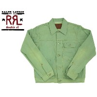 ★★ RRL  ラルフローレン DOUBLE RL ダブルアールエル SANTAFE DENIM WORK JACKET/SANTAFE TURQUOISE あす楽