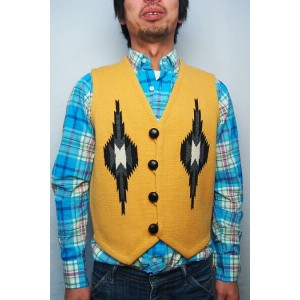 ORTEGA'S CHIMAYO VEST(COLOR : GOLD / SIZE : 36)【05P03Sep16】