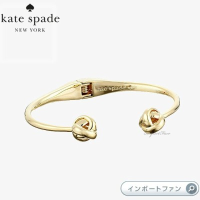 Kate Spade ケイトスペード Dainty スパーカー ノット カフブレス Dainty Sparklers knot cuff 正規品 □