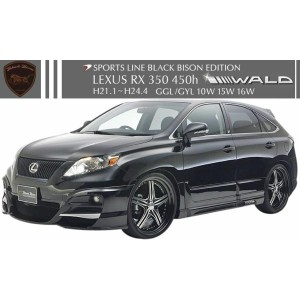【M's】LEXUS RX 350 450h 前期(H21.1-H24.4) GGL/GYL 10W 15W 16W WALD Sports Line Black Bison Edition...