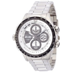 ハミルトン カーキ メンズ 腕時計 Hamilton Khaki X-Wind Automatic Silver Dial Stainless Steel Mens Watch H77726151