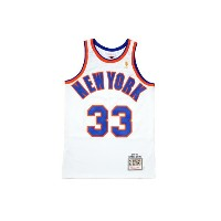 MITCHELL&NESS AUTHENTIC THROWBACK JERSEY (1996-97 New York Knicks/Patrick Ewing : WHITE)ミッチェル&ネス...