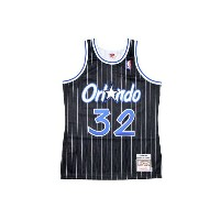 MITCHELL&NESS AUTHENTIC THROWBACK JERSEY (1994-95 Orlando Magic/Shaquille O'Neal : BLACK)ミッチェル&ネス...