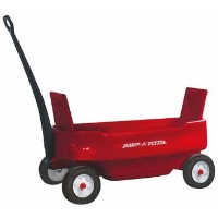 Radio Flyer Pathfinder Wagon Red ラジオフライヤー