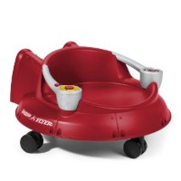 Radio Flyer Spin N Saucer with Electronics, Red ラジオフライヤー