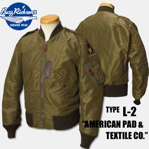 "BUZZ RICKSON'S(バズリクソンズ) Type L-2 ""AMERICAN PAD & TEXTILE CO.""【BR11130】"