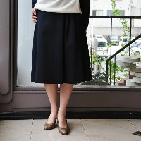 SOFIE D'HOORE(ソフィードール) / SONG -one side draped skirt-(3色展開)