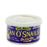 ZOOMED カン・オー スネール CAN O SNAILS 50g 爬虫類 餌 エサ 缶詰 関東当日便
