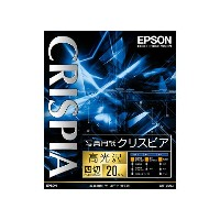 [EPSON] 写真用紙 クリスピア K4G20SCKR 高光沢 4切判 20枚
