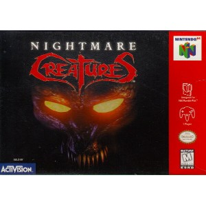 【中古】 N64 北米版 NIGHTMARE CREATURES