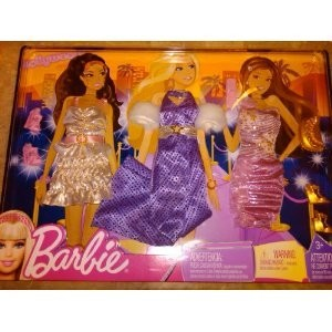 Barbie My Fab Life Travel Clothes and Accessories: Hollywood Outfits (Exclusive)
