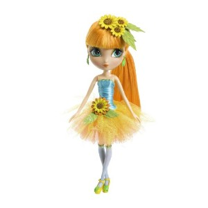 Spinmaster La Dee Da Garden Tea Party, Cyanne as Sunflower Burst 人形 ドール