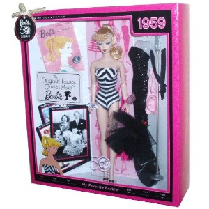 "Barbie バービー 50th Anniversary Collector Edition My Favorite Barbie バービー Series ""1959"" Repro"