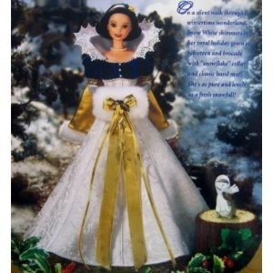 Disney ディズニー's Snow White Holiday Princess Barbie バービー