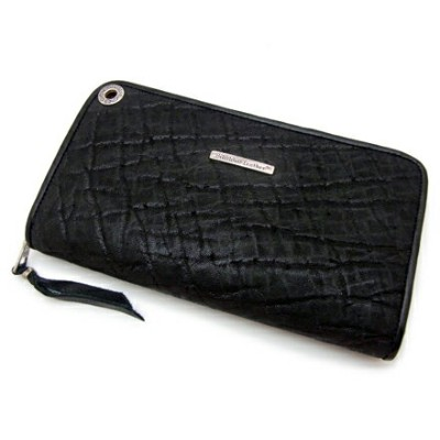 【BWL ビルウォールレザー】ウォレット W948/Zipper / Elephant (Yen)(Wallet Hole=Wave)