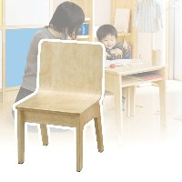melkids 天然木使用の子供用ジュニアチェア【RCP】【ME-30CNA】