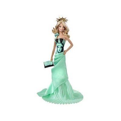 Barbie Collector Dolls of the World Statue of Liberty Doll