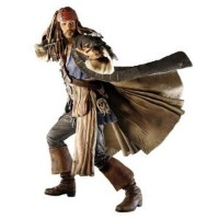 Pirates of the Caribbean III: At World's End: Talking Jack Sparrow 12-Inch Action フィギュア