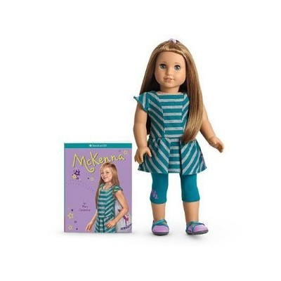 American Girl Educational Products - American Girl of the Year 2012 McKenna Doll & Book - American
