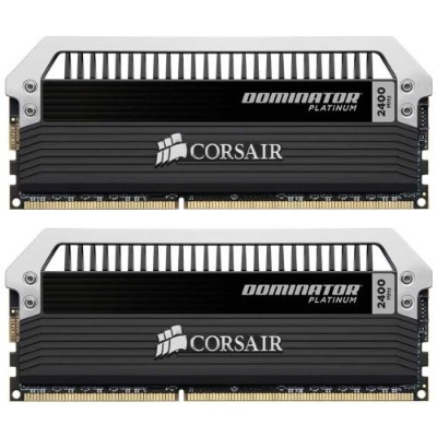 Corsair DOMINATOR Platinum Series 16GB (2 x 8GB) DDR3 DRAM 2400MHz PC3 19200 C10 Desktop Memory Ki