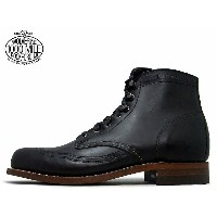 WOLVERINE ウルヴァリン 1000MILE BOOTS 1000マイルブーツ WO5344 W05344 BLACK ブラック ホーウィン社製 クロムエクセルレザー Made in USA...