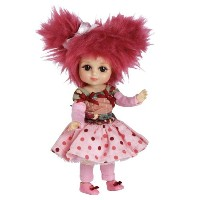 "Marie Osmond Doll 6"" Standing Ruella Raspberry Bitty Belle Mop Top 人形 ドール"