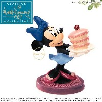 WDCC ミニーマウス ケーキ ミッキーのつむじ風 Minnie Mouse For My Sweetie The Little Whirlwind □