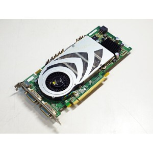 GIGABYTE GeForce 7800GTX 256MB DVIx2/TV-out PCI Express GV-NX78X256V-B【中古】【送料無料セール中! (大型商品は対象外)】