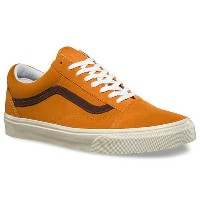 【バンズ シューズ】VANS Shoes OLD SKOOL (VINTAGE SUEDE) GOLDEN OAK●スニーカー スケシュー