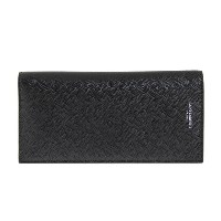 サンローランパリ SAINT LAURENT PARIS 財布 メンズ 長財布 ブラック CLASSIC SAINT LAURENT CONTINENTAL WALLET 396308 BTY0N...