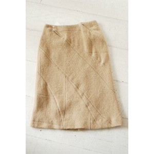 【PPCM(ピーピーシーエム)】【60%オフ outlet】切り替えウールスカート/13S03F103*SK#TG*