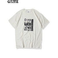"【即納】GAME / ""EL GAME"" TEE nature Tシャツ ナチュラル"