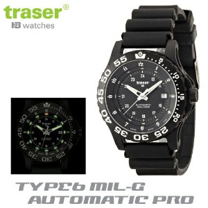 【Traser Watches】トレーサー trigalight 軍事用時計 「TYPE6 MIL-G AUTOMATIC PRO」