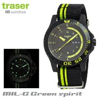 【Traser Watches】トレーサー trigalight 軍事用時計 「MIL-G Green spirit」