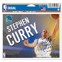 NBA ウォリアーズ ステファン・カリー ステフィン・カリー デカール ウィンクラフト/WinCraft MULTI-USE COLORED DECAL 5 X 6