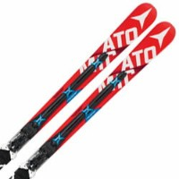 ATOMIC〔アトミック スキー板〕 2016 REDSTER FIS DOUBLEDECK 3.0 GS W + X12 VAR【金具付き・取付料送料無料】【大型商品】レーシング