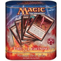 マジックザギャザリング 「Premium Deck Series: Fire & Lightning 」 (英語版)
