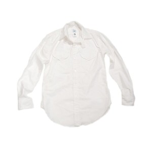 POST OVERALLS(ポストオーバーオールズ)/#1268 VERY LEE OXFORD SHIRTS/white