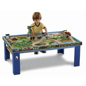 Fisher-Price Thomas the Train Wooden Railway Play Table きかんしゃトーマス テーブル
