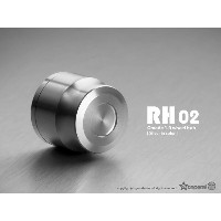 1.9 RH02 wheel hubs (Silver) (4) GM70122 Gmadejapan Junfacjapan 05P01May16