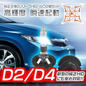 【ポイント最大16倍&クーポン5%OFF】 1年保証 HID バルブ HID バルブ NISSAN アベニールH10.8~H17.11 W11ロービーム 純正交換用HIDバルブ D2R TKK...