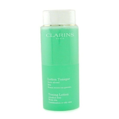 ClarinsToning Lotion with Iris - Combination or Oily Skinクラランストーニング ローション - コンビネーション/オイリースキン 400ml...