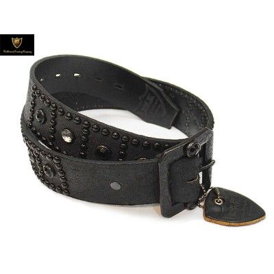 HTC ベルト 【htc/belt】 #BT002 ROUGH OUT LEATHER 1.75inch BELT BLACK