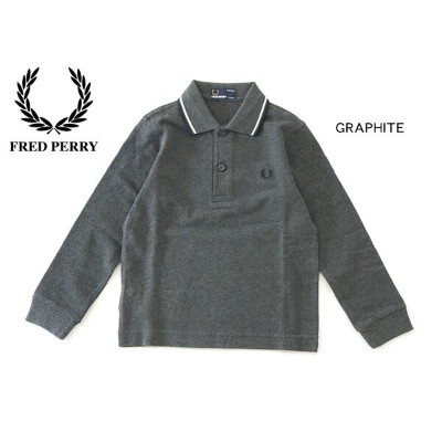 【50%OFF】FRED PERRY Kids Long sleeve Twin Tipped Shirt■SY1392_1-MG【 ベビー&キッズ トップス ポロシャツ 長袖 衿付き...