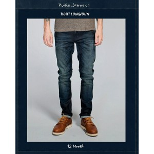 "【NudieJeans""TightLongJohn/12Month""L30】【タイトロングジョン""12ヶ月】"