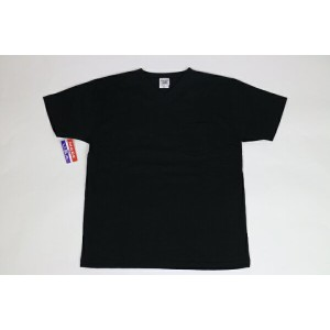 CAMBER / MAX WEIGHT POCKET S/S TEE BLACK キャンバー ショート Tシャツ 半袖 Vネック